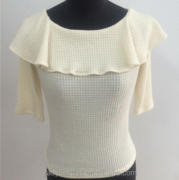 Fancy White Blouse Breeze Clothing