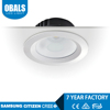 led downlight 10w 70mm 3000k 700lm smd cob led down light 3w directional