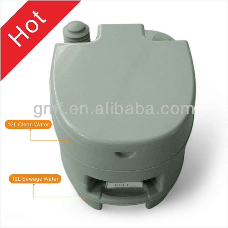 The hot sales and most popular all over the world portable camping toilet