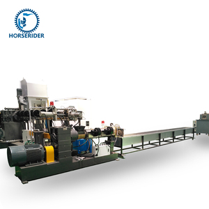 pp hd ld plastic recycling granulating machine