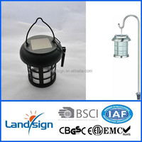 Multi-purpose solar camping light solar lantern with handle and hook for emergency lighting