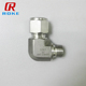 1/2 double ferrule forged stainless steel male female thread elbow fittings