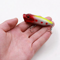 Promotions 1Pcs Minnow Bait Crank Bait 6 5 cm 12g Poole Lur 5 Color Hard bait