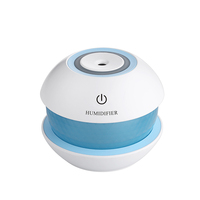 Mini Car Ultrasonic Air Humidifier Glass Cooler 3d Portable Aroma Diffuser