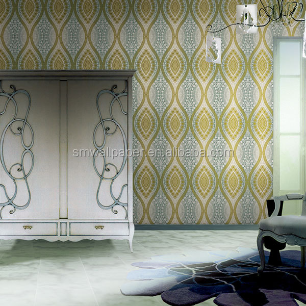 Eco friendly wallpaper decorative wall coverings 3D wall panels for home decor