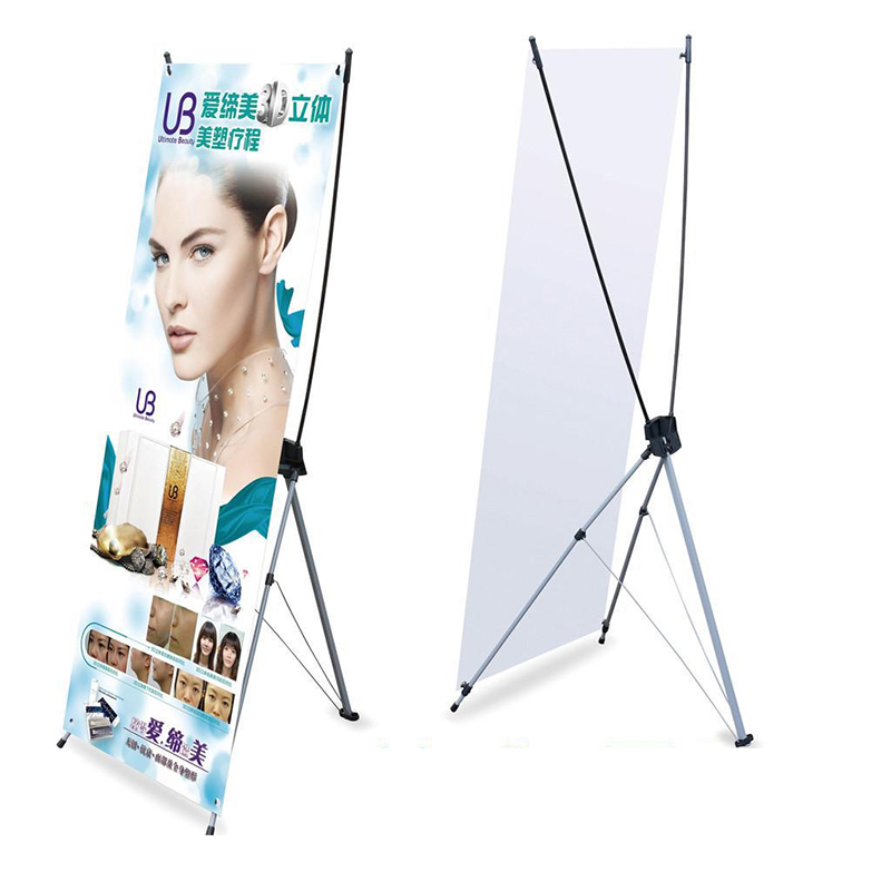 Barato Personalizado Exposição Roll up Display Banner Stand X Banner