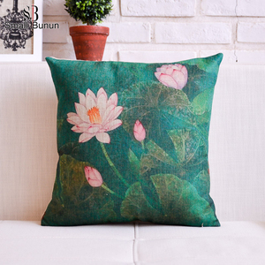 Superior Kantha Printed Cushion Cover