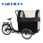 China cargo vélo tricycle avec batterie