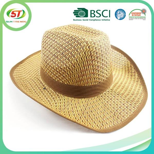 6a02738479c China Custom Paper For Women Straw Cowboy Hat - Buy Cowboy ...