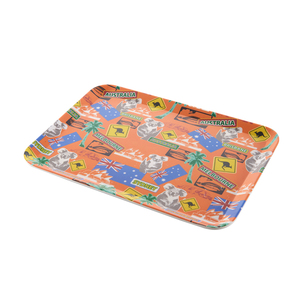 Durable design 2018 Made in China square food tray