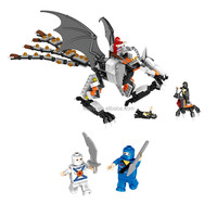 466PCS Ninja Squad Series ABS Plastic DIY Toy Bricks, Building Blocks Kids Toy