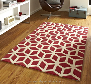 Por Geometric Design Area Rugs