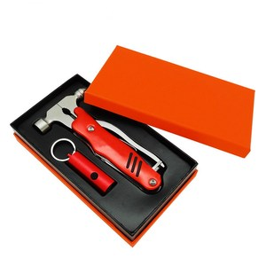 Tool kit include LED keychain light/ Multifunction Pliers for gift set