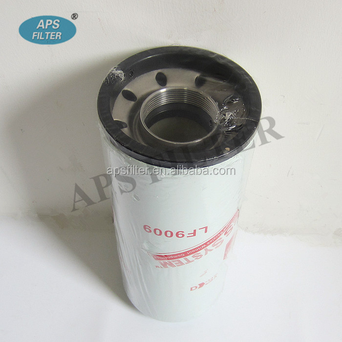 OEM spin-on cartridge hydraulic filter tractor oil filter LF9009