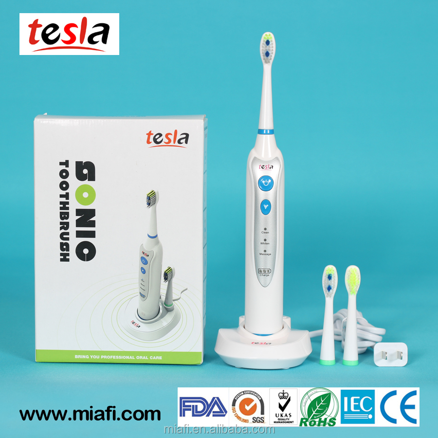 MAF8120 Professional Electric Sonic Rechargeable Toothbrush with 3 Dental Care Modes