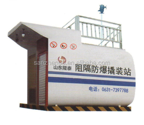 Newly design portable skid mounted mobile gas station petroleum gasoline station