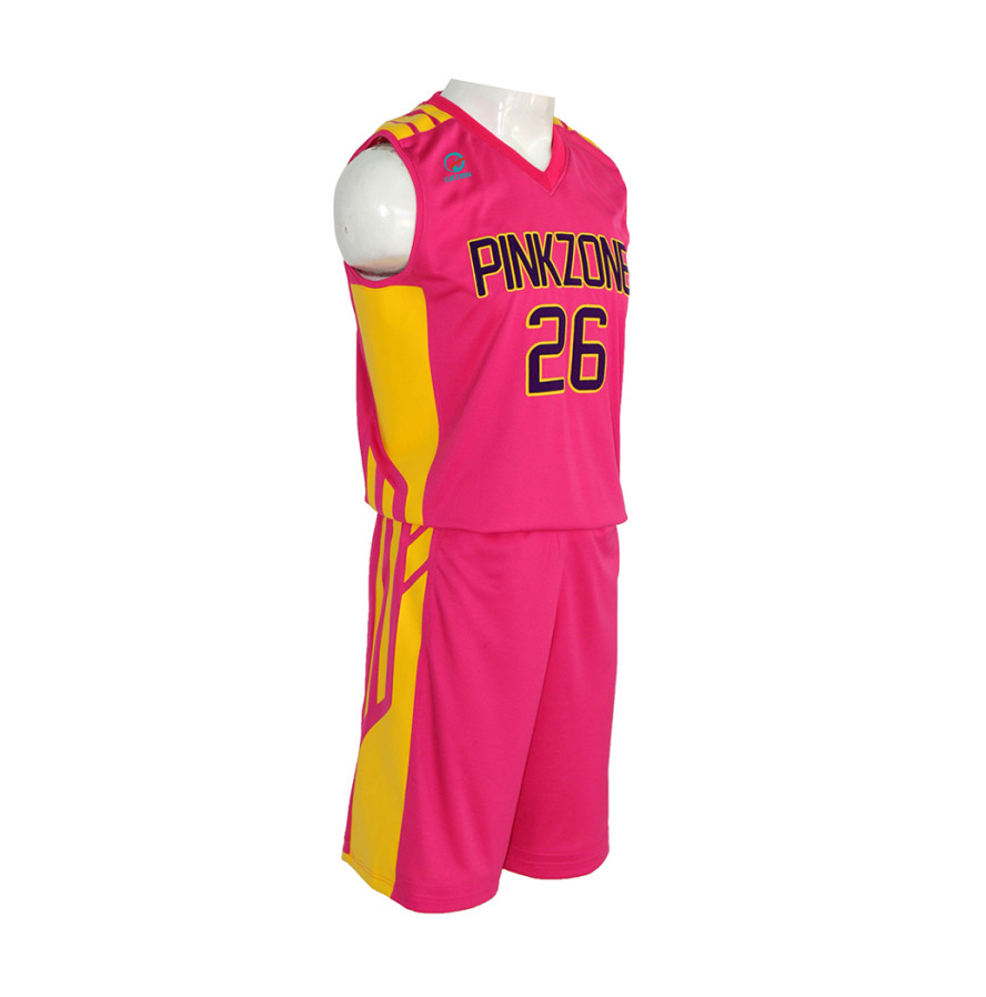 0862c9bb2 100 Mesh Polyester Basketball Uniform Sublimation