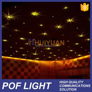HUIYUAN high quality plastic ceiling optic fiber light
