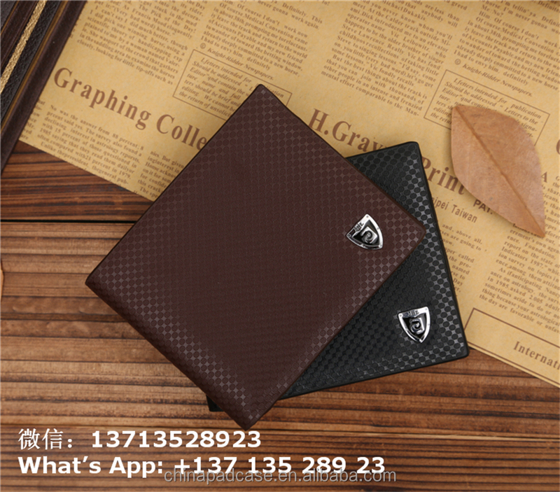 JINBAOLAI dot pattern men wallet pu