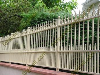 Strong Spear Top Wrought Iron Fence, Garden Border Fence