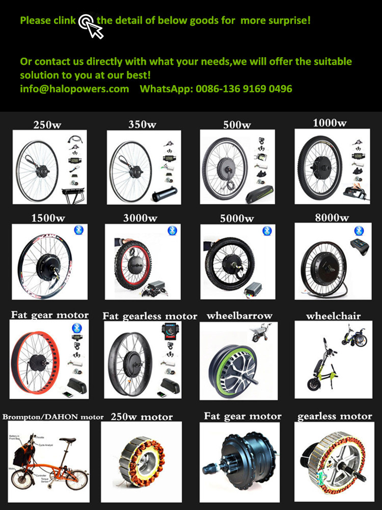 高品質ce承認500wギアモーターファットタイヤ電動自転車キットファットバイク変換キット