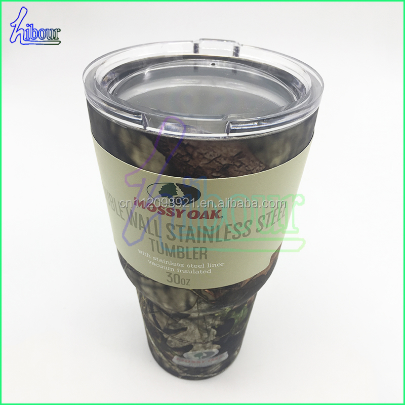 Double Wall Vacuum Insulation Compare to Tumbler or RTIC a Great Travel Mug and Coffee Cup in Camouflage Camo Best