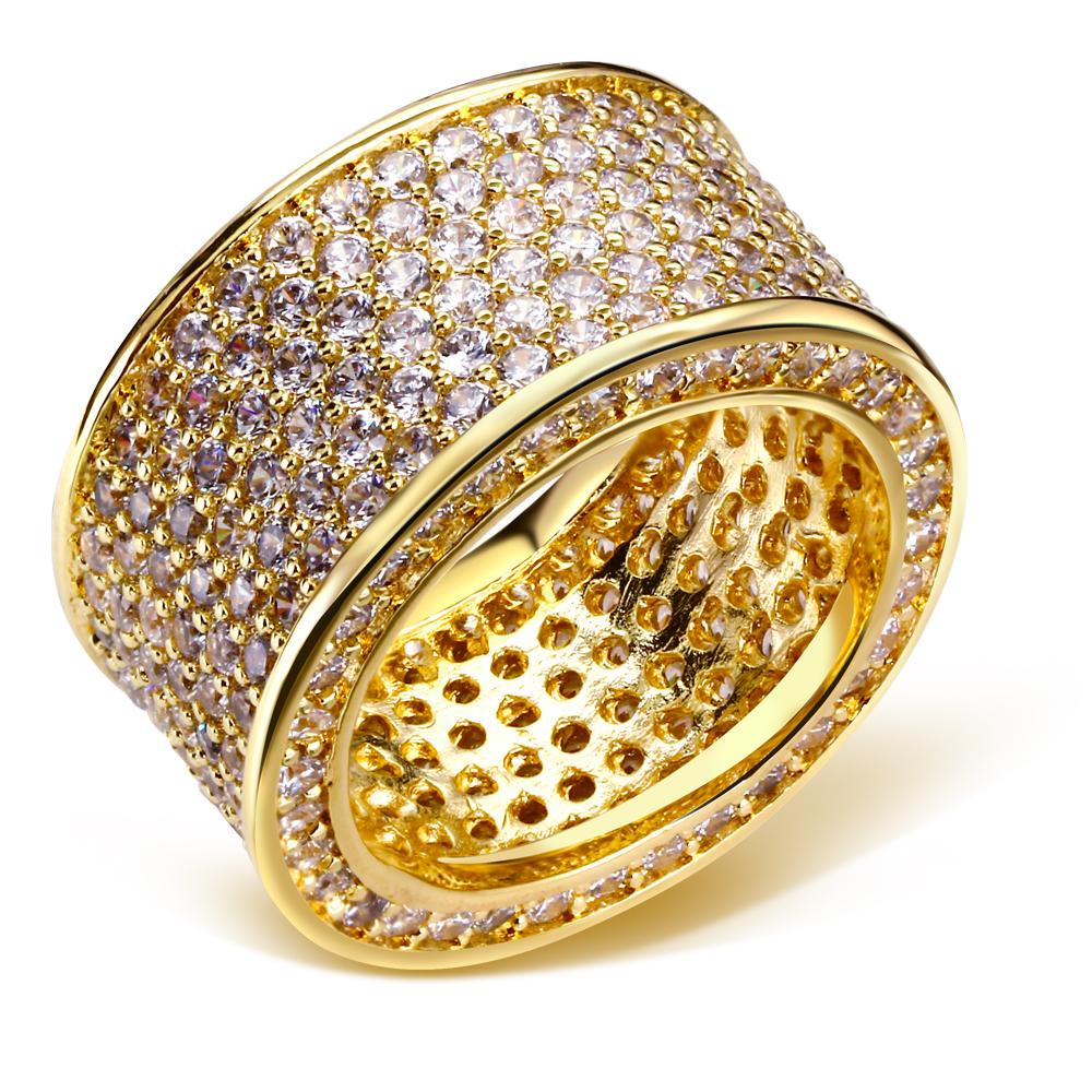 (Beauty) New Look Cubic Zirconia Stone Women Wedding Rings