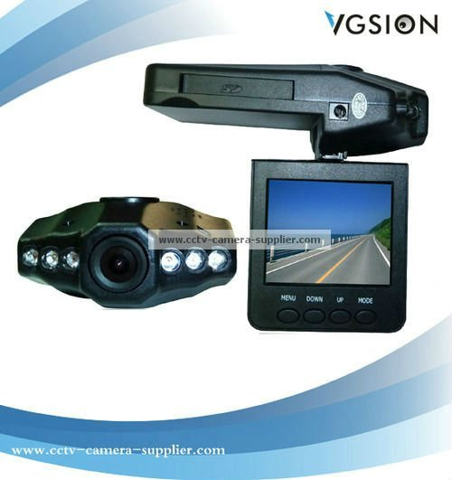 Motion Detection LED CCTV Camera HD720P Car DVR, Car HD Camcorder