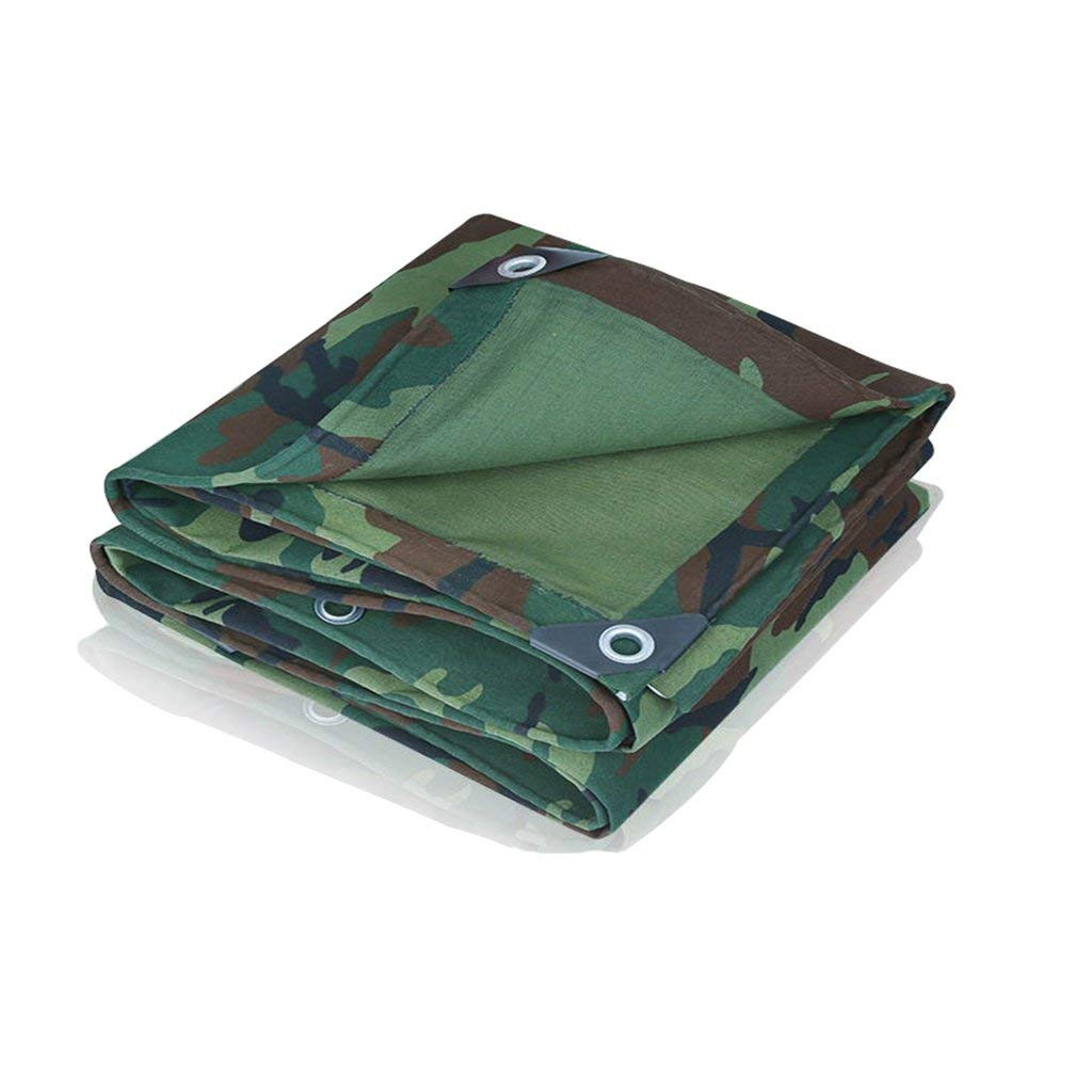 COZY HOME AAA Camouflage tarpaulin, silicone canvas dust-proof shade rain sunscreen insulation outdoor camping cover cloth picnic mat tarpaulin travel spare