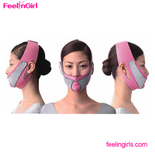 Cheapest NO MOQ Neoprene Pink Face Shaper Slim Belt 5 Mins Shaper