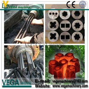 Vega type 360 Straw Charcoal Briquette Machine Making Ball Press on Sale