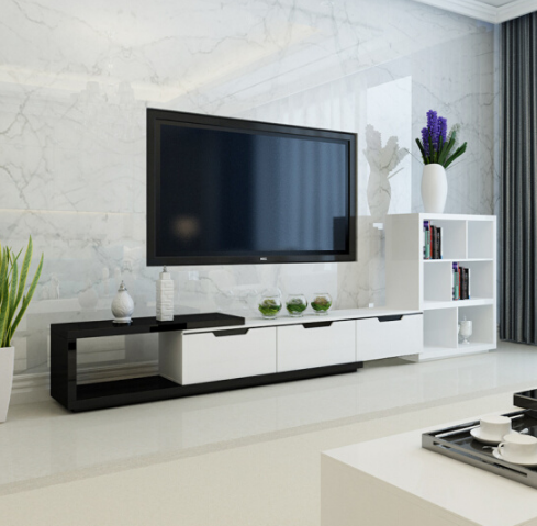Latest design wood simple tv stand tv stand cabinet buy - Simple tv unit design for living room ...