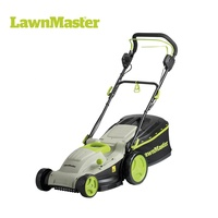 LawnMaster self-propelled 42cm cutting width 53L Catch Bag powerful 1800W Motor commercial hand push lawn mower- MEBS1842M