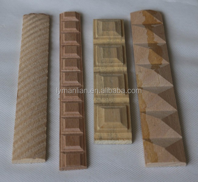 Groothandel beuken sculpturen Carving hout moulding trim strip