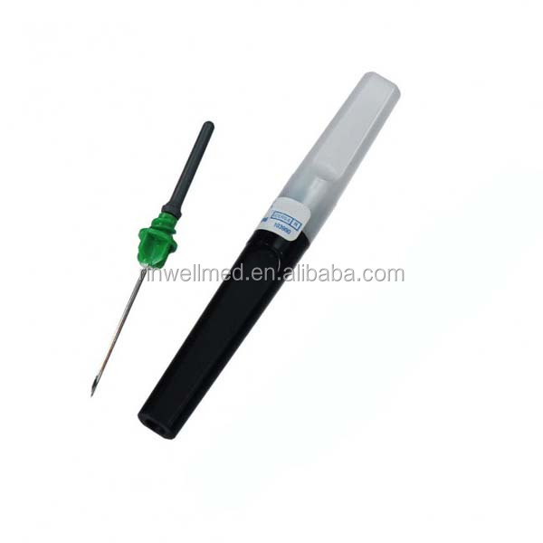 Safety vacuum blood collection needle