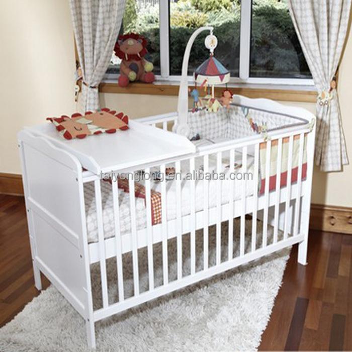 Dise o convertible madera cama individual cama beb cunas para bebes identificaci n del producto - Cama cuna para ninos ...