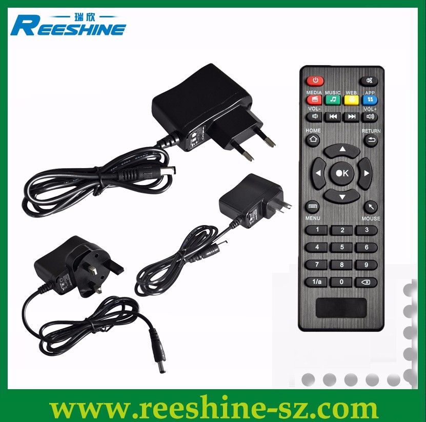 mini m8s pro android tv box H 265 4K DDR4 desi tv box ip tv box, View mini  m8s pro tv box, Reeshine Product Details from Shenzhen Reeshine Electronic