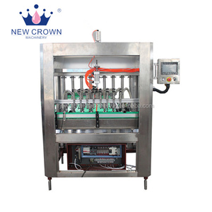 Automatic glass bottle piston filling machine, sauce piston filler, auto edible oil filling machine
