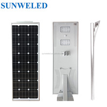 Car Park Lighting 40w all in one solar street light with Battery