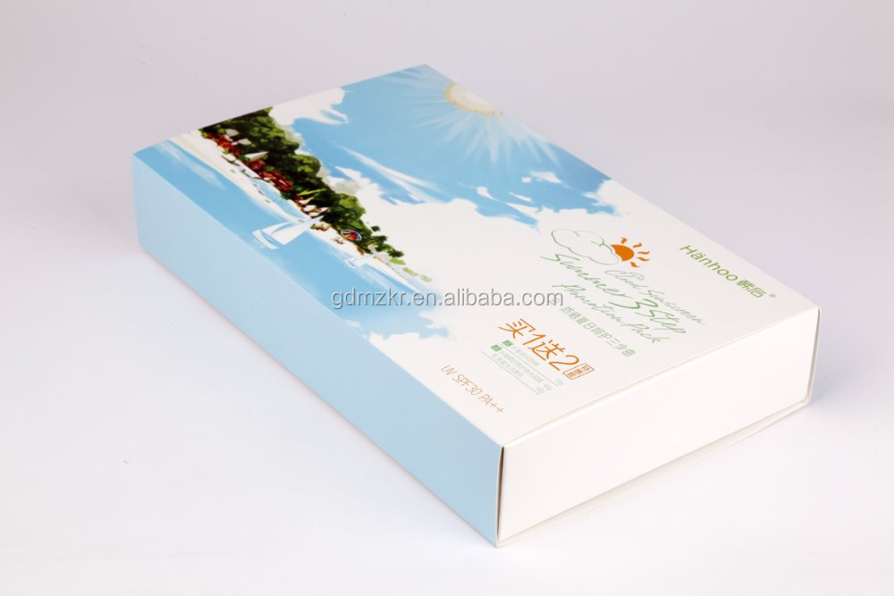 Factory wholesale custom logo cardboard quality hair extension packaging