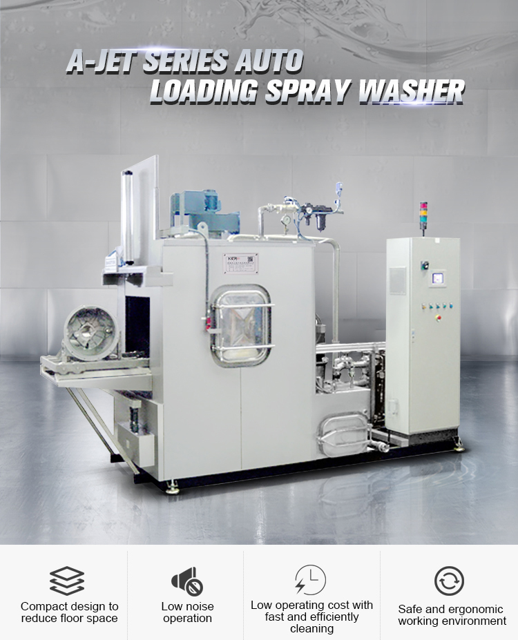 A-JET Series Auto Loading Spray Washer