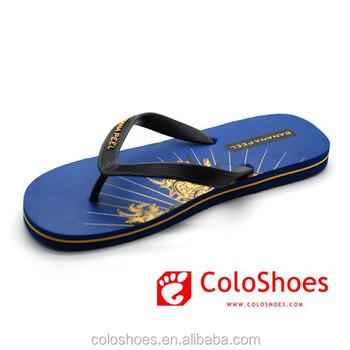 77587bd8fef Pvc Strap Eva Men Flip Flops Slipper Shoe