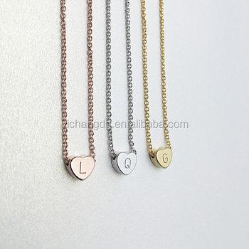 Latest design saudi gold jewelry necklace heart initial engraving latest design saudi gold jewelry necklace heart initial engraving necklace heart pendant necklacecustom aloadofball Choice Image
