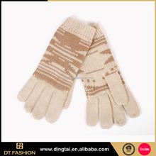 Cheap wholesale custom colorful winter knitting gloves