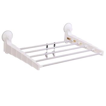 Suction Cup Bathroom Adjule Towel Rack