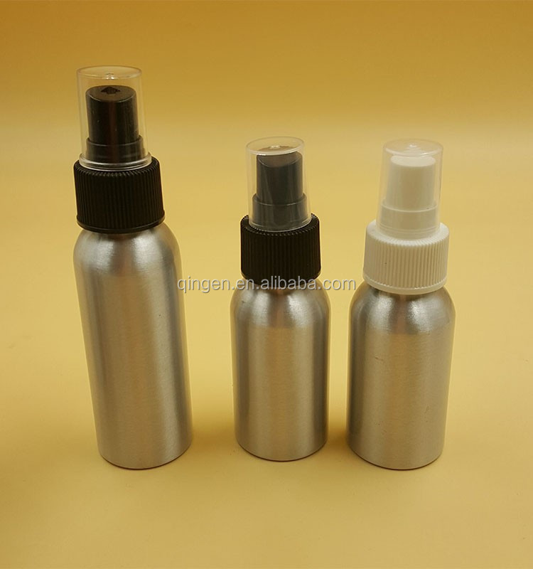 Wholesale Aluminum Bottles 60ml for water/cosmetics/beer 50ml 100ml 250ml 300ml