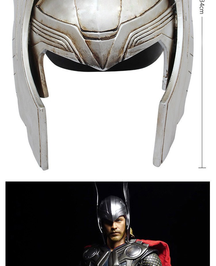 Back To Search Resultstoys & Hobbies Cosplay The Avengers Thor Helmet Props 1:1 Art Craft Resin 34cm Action Figure Collectible Model Toy Christmas Present Z170
