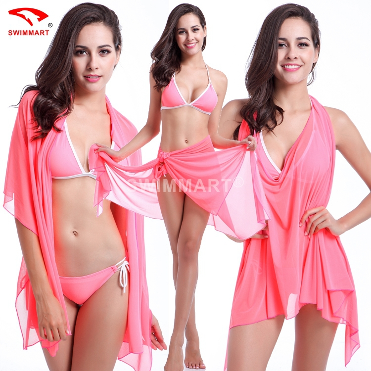 Женщины больше длинная платья юбка пляж платье пляж блузка купальный костюм бикини крышка вверх пляжная рубашка платье купальник