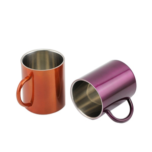 2018 hot sale insulated custom printed stainless steel colour changing coffee mug