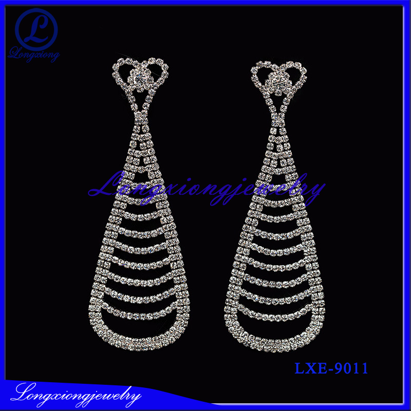 China Fahsion Jewelry Manufacturer Wholesale Earrings For Wedding Evening Party